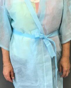Kimonos y batas de polipropileno